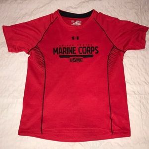 Under Armour Youth Heat Gear Shirt, Size YM